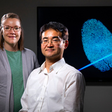 Young-Jin Lee and Paige Hinners may have found a way to determine when a fingerprint was left behind.